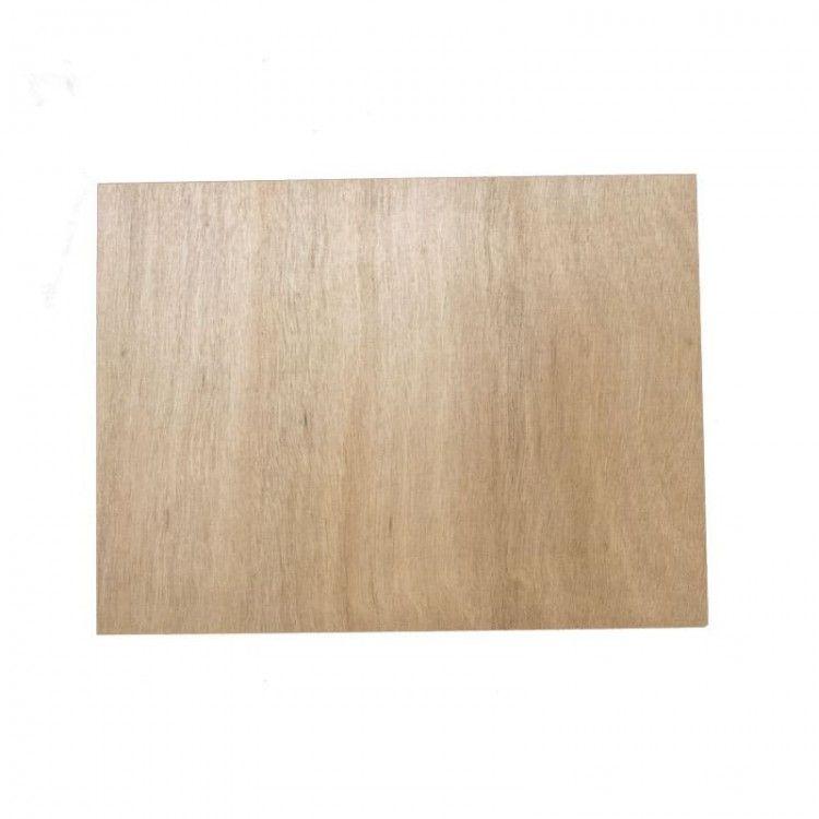 Planchette Lot de 4 planchettes en bois Rectangulaire Vulcano - 1