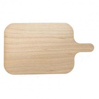 Planchette Lot de 4 planchettes en bois Rectangulaire avec manche Vulcano - 1